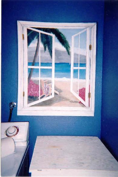 Heart To Art Trompe L Oeil Mural Painting Faux Painting